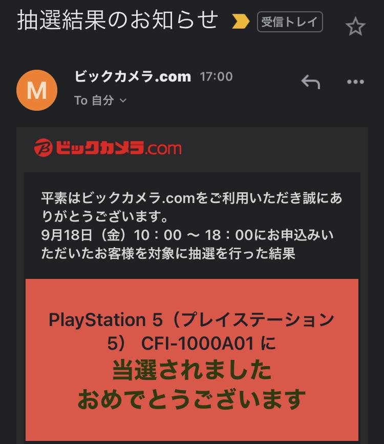 Ps5 抽選 結果 ヤマダ PS5 予約